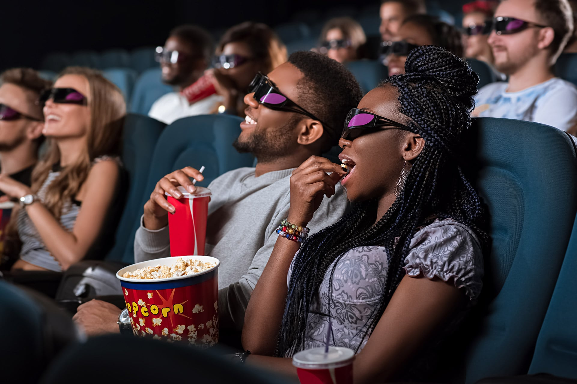 african-couple-at-the-cinema